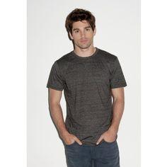 Canvas Triblend Crew Neck T-Shirt / #Mens #Short Sleeve #T-Shirt