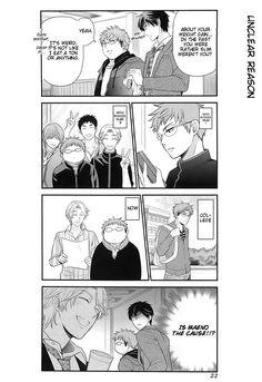 Gekkan Shoujo Nozaki-Kun 21 Page 6...ROFL