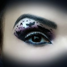 Love this bat eye by thatdamnlatinaa. Tag your pic with #Halloween & #SephoraSelfie for a chance to be featured on our board! #Sephora