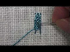 How to Make the Braid Stitch, aka Cable Plait Stitch, in Hand Embroidery. For more information on Braid Stitch, Cable Plait Stitch or other hand embroidery stitches, visit Needle 'n Thread: www.needlenthread.com