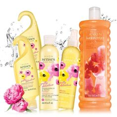 A beautiful blend of passionfruit, sweet pink peony and warm white amber A $38 value This collection has my most favorite Bubble bath... I even use it in the soap dispenser cause I like it so much!
