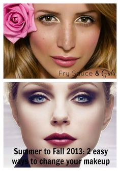 Transition from Summer to Fall Makeup  from FrySauceandGrits.com #makeup #beauty #fall2013 #winter #makeuptips