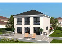 stadtvilla von haacke haus wohnfläche gesamt 218,92 m² ... - Stadtvilla Fertighaus