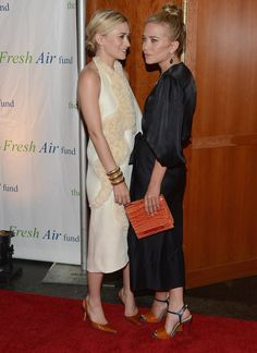 Mary-Kate and Ashley's shoes! And MKs bag