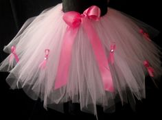 Breast Cancer Awareness Tutu  Adult Size by LittleTutuShop on Etsy, $49.00