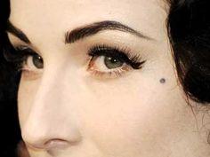 I want my piercing to look like a beauty mark