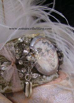 Romancing the Bling cuff bracelet