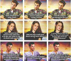 Robert Pattinson ❤ Kristen Stewart ❤ Love this edit. Twilight Jokes, Twilight Saga Series, Twilight Cast, Twilight Movie, False Facts, Robert Pattinson And Kristen, Wholesome Memes, Kristen Stewart, Cute Love
