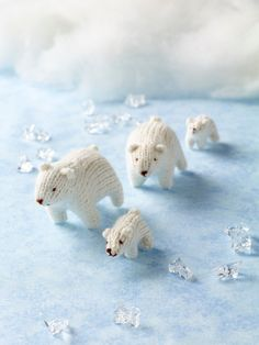 Polar Bear  •  Free tutorial with pictures on how to make a polar bear plushie in under 180 minutes