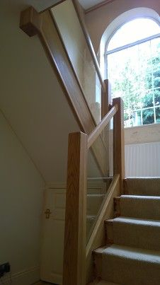 Glass & oak - N E Stairs Ltd