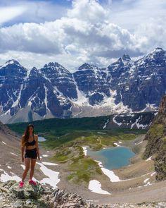 Sentinel Pass Moraine Lake