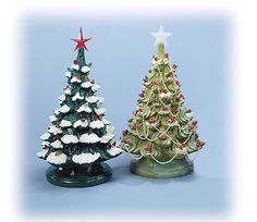 Ceramic Christmas Tree Lights Bulbs Ornaments And Decorations National Artcraft