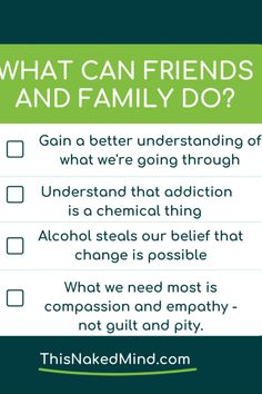 I get this question so much - how do I help someone who is changing their relationship with alcohol. First off - that's amazing that you want to help and most of us love feeling supported! . My first piece of advice if you want to help someone who is changing their relationship with alcohol is to work on gaining a better understanding of what they are going through. A great way to get insight is by reading #quitlit like This Naked Mind. We need your support.