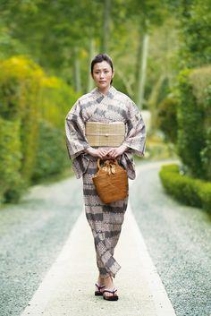 浴衣(ゆかた) 時 Toki | ゆかたコレクション ぶるじょわずがーるず | 東京ますいわ屋