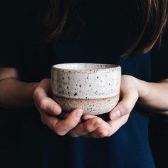Another little piece I brought home from Clay School last week. This one's a little stoneware tea cup with a shino glaze. I am completely addicted to this.