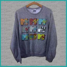 ad757fdce vintage-mtv-crewneck-crew-neck-sweatshirt