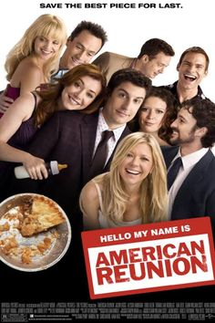 """Join Chris and the Fanatics for """"AMERICAN REUNION"""" on Friday April at AMC Del Amo 18 in Torrance! The entire cast of the """"American Pie"""" films has reunited for this reboot of the iconic franchise. We're hoping it delivers the comedy goods! Comedy Movies, Hd Movies, Movies Online, Movies And Tv Shows, Movie Tv, Funny Comedy, Watch Movies, American Pie 4, American Pie Movies"""