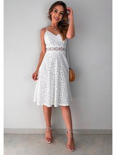 Swans Style is the top online fashion store for women. Shop sexy club dresses, jeans, shoes, bodysuits, skirts and more. Cheap Party Dresses, Designer Party Dresses, Party Dresses Online, Cute Dresses, Short Dresses, Summer Dress Outfits, Pretty Outfits, Fashion Dresses, White Dress