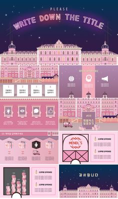 Grand Budapest Hotel concept PowerPoint templates is part of Powerpoint design templates - s Powerpoint Layout, Design Powerpoint Templates, Business Powerpoint Presentation, Graphic Design Templates, Ppt Design, Slide Design, Webdesign Layouts, Sketch Note, Design Presentation