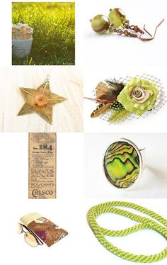 Think Spring by Arlene on Etsy--Pinned with TreasuryPin.com