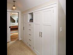 1000 images about 2nd floor cape cod design ideas on for Cape cod closet ideas