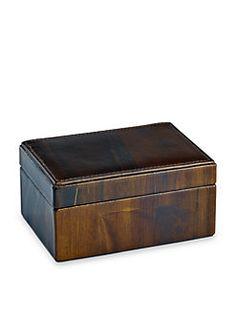 Graphic Image - Leather Box
