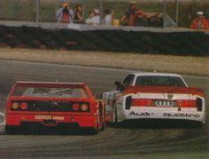 Ferrari F40 LM IMSA & Audi Quattro IMSA