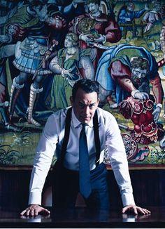 Tom Hanks hands down one my favorite actors. -<3