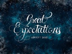 Great Expectations: Advent (Updated) by carrie lee grant, via Flickr