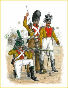 FRANCE - The Prince of Neufchâtel's Battalion: Officer, Grenadier & Voltigeur 1807-1815, by Bruce Bassett-Powell.