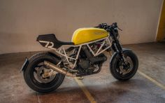 Ducati 750 Sport Cafe Racer by Andreas Goldemann #motorcycles #caferacer #motos | caferacerpasion.com