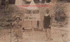 Leçons de natation par JOË à Saint Cast (Bretagne) vers 1900