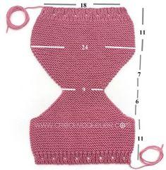 вязаные трусики Baby Girl Crochet, Knitting For Kids