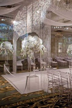 24 White Wedding Decoration Ideas ❤ See more: http://www.weddingforward.com/white-wedding-decoration-ideas/ #weddings #decorations