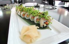 Chef Tiffany Derry of Private Social chose to pair #CasaDragones with her signature Surf & Turf Sushi Roll.