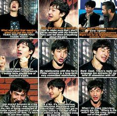 Ezra Miller is a massive Harry Potter fan and I love it so much.