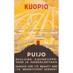 Kuopio - Puijo  / Poster37