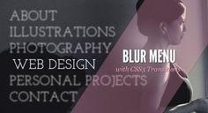 Como crear un menú con efecto de perdida de foco usando jquery-BlurMenu