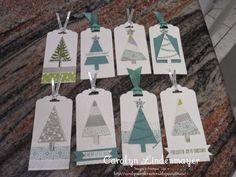 Festival of Trees Tags