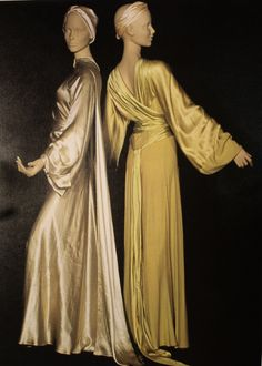 Madeline Vionnet 1920's dresses: Research imagery for our couture sewing pattern collection - coming April 2014 - www.ralphpink-patterns.com