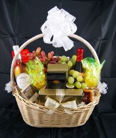 fruit cheese and crackers basket gourmet gift baskets