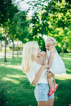Happiness; Mother and daughter