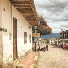 Buildings, Around The Worlds, Culture, Traditional, Country, Beautiful, Beautiful Landscapes, Barichara, Mountain Range