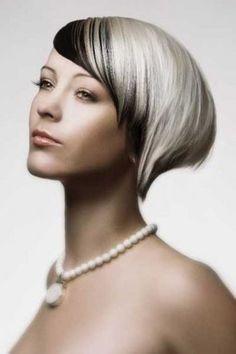 capelli neri e bianchi
