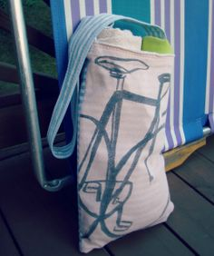 DIY: T-shirt Beach Towel Bag!