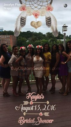 occasions events bridal shower fltr