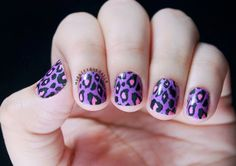 60 Trendy Ideas For Purple Nail Art Designs You Must TryThe purple shading is a blend of red and blue. Red is a compelling and strong shading, overflowing with essentialness and blue is crisp, so the purple as a blend of this two has properties of bo Purple Nail Art, Purple Nail Polish, Purple Nail Designs, Nail Polish Colors, Nail Art Designs, Sally Hansen, Photomontage, Tumblr Nail Art, Clean Nails