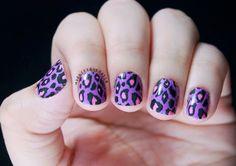 Purple Spots http://www.omgnailstrips.com/nail-polish-strips/purple-pink-spots-nail-strips
