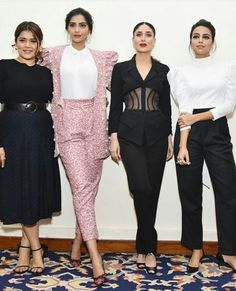 Veeres Kareena Kapoor Photos, Kareena Kapoor Khan, Bollywood Stars, Bollywood Fashion, Fashion Wear, Fashion Outfits, Womens Fashion, Veere Di Wedding, Wedding Movies