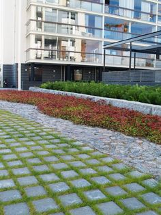 Ideakuvat | Rudus Paving Stones, Concrete, Sidewalk, Golf, Contemporary, Home Decor, Decoration Home, Room Decor, Side Walkway